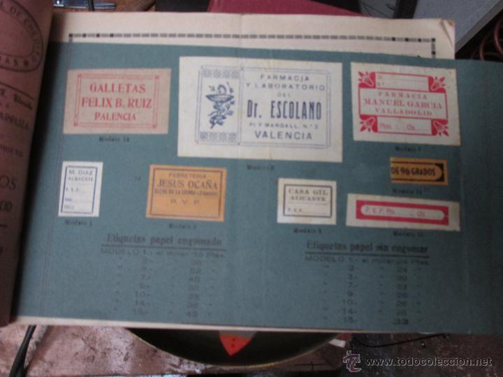 Catálogos publicitarios: BELLO CATALOGO DE VICENTE VIDAL, VALENCIA 1920 - DISEÑOS SELLOS CAUCHO, ESMALTES Y GRABADOS + INFO - Foto 2 - 53452692