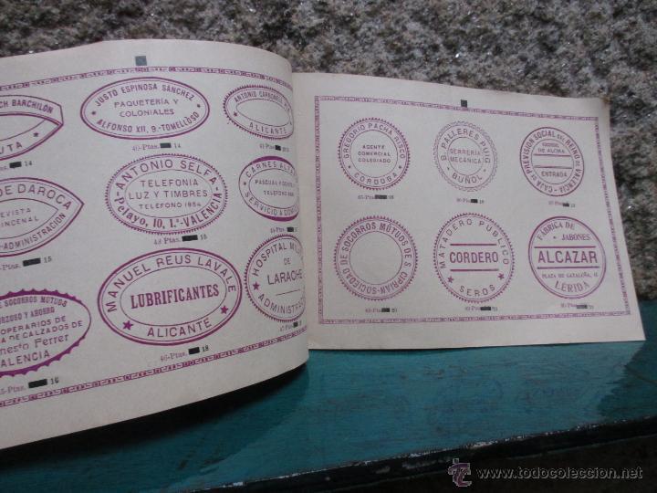 Catálogos publicitarios: BELLO CATALOGO DE VICENTE VIDAL, VALENCIA 1920 - DISEÑOS SELLOS CAUCHO, ESMALTES Y GRABADOS + INFO - Foto 4 - 53452692
