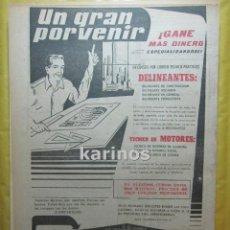 Catálogos publicitarios: 1958 PUBLICIDAD INSTITUTO AMERICANO RR. Lote 53800922