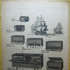 Cataloghi pubblicitari: 1959 PUBLICIDAD RADIO ASKAR RR. Lote 53844573