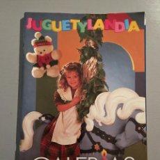Catálogos publicitarios: CATALOGO DE JUGUETES GALERIAS PRECIADOS. 90/91 CON EXTRA.. Lote 54128112