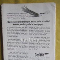 Catálogos publicitarios: 1967 PUBLICIDAD CESSNA -NA-. Lote 54071322