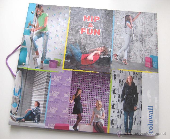 Cat logo grande de papel pintado de pared 50x45 comprar cat logos publicitarios antiguos en - Manualidades con papel pintado ...