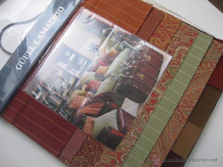Gran catalogo de telas 50x45cm g ell lamadrid t comprar cat logos publicitarios antiguos en - Telas para tapiceria precios ...