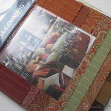 Catálogos publicitarios: GRAN CATALOGO DE TELAS 50X45CM GÜELL LAMADRID TROZOS DE TELA DE TAPICERIA CLASICA VINTAGE PACHWORK. Lote 54081072