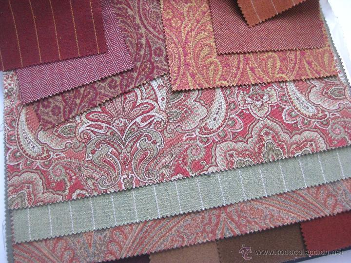 Gran catalogo de telas 50x45cm g ell lamadrid t comprar - Telas tapiceria madrid ...