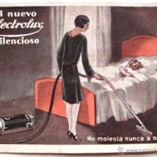 Catálogos publicitarios: CATALOGO / PUBLICIDAD ASPIRADOR SILENCIOSO ELECTROLUX AÑOS 20 - 30. Lote 54202473