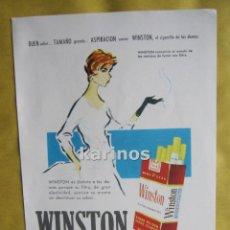 Catálogos publicitarios: 1957 PUBLICIDAD WINSTON -NA-. Lote 54359725