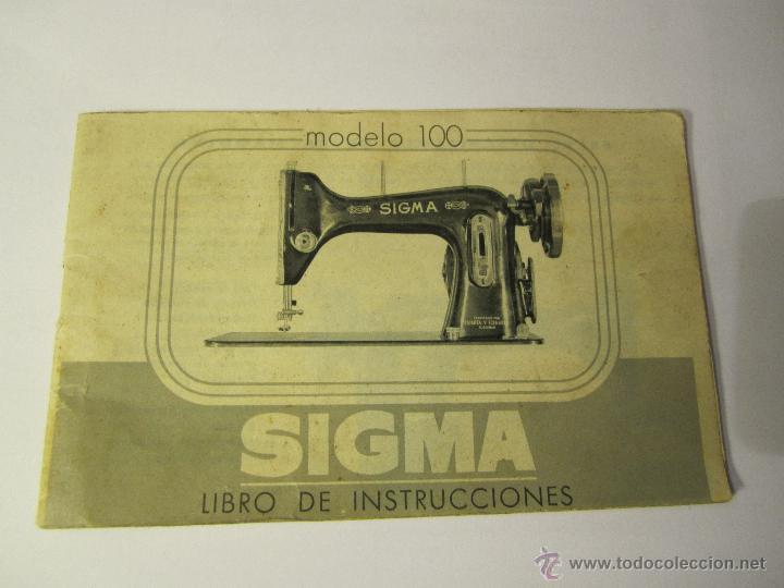 Antiguo Manual De Instrucciones Maquina De Cose Vendido En Venta Directa 54593834