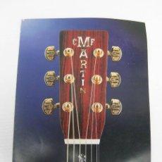 Catálogos publicitarios: CATALOGO MUSICA GUITARRA ESPAÑOLA C.F MARTIN. Lote 54724079