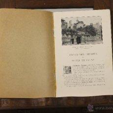 Catálogos publicitarios: 7240 - MUSÉE DES THERMES ET DE CLUNY. 3ª EDICIÓN. EDIT. J. LEROY. 1922 ?.. Lote 54647108