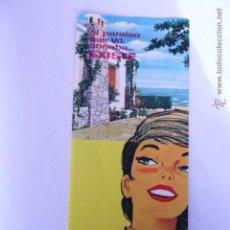 Catálogos publicitarios: TRÍPTICO PUBLICITARIO DE LA EMPRESA CUSE SA SEGUR DE CALAFELL. Lote 54952009