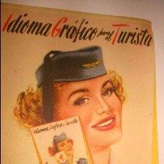 Catálogos publicitarios: L950 ANTIGUO CATALOGO PUBLICIDAD AVION AVIONES IBERIA. Lote 55226707