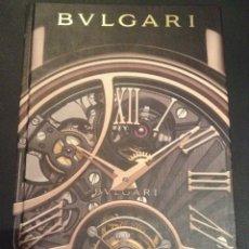 Catálogos publicitarios: CATALOGO DEL 2012 DE RELOJES BULGARI RELOJ. Lote 55428857