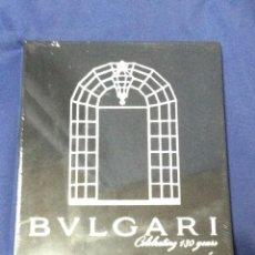 Catálogos publicitarios: BULGARI CELBRATING 130 YEARS - LIBRO CATALOGO RELOJ RELOJES. Lote 56096120