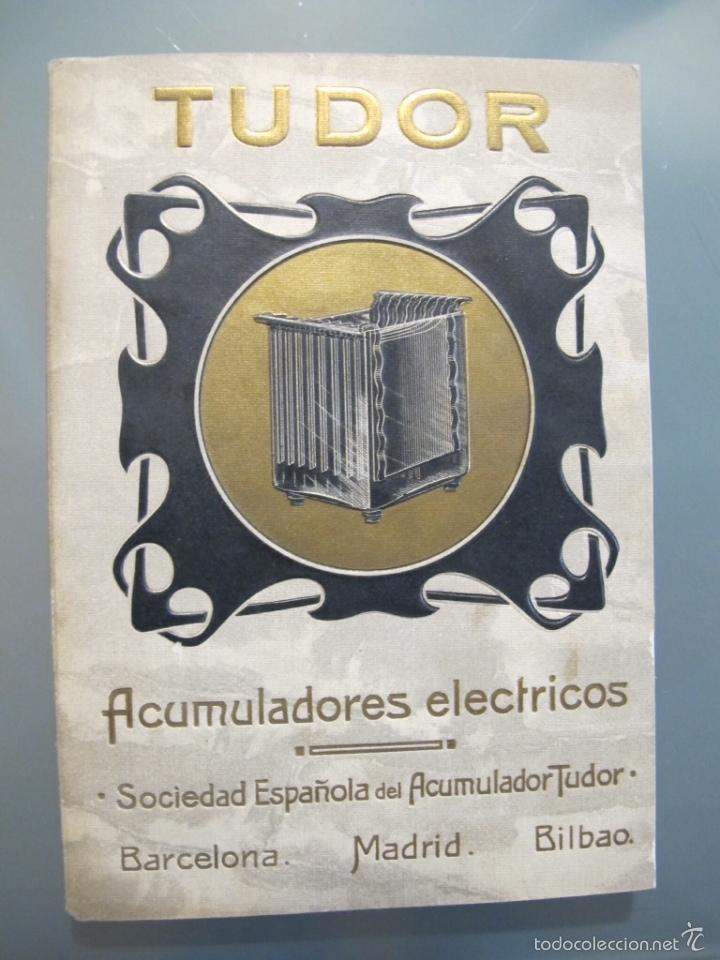 CATÁLOGO TUDOR 1907 (Coleccionismo - Catálogos Publicitarios)