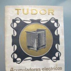 Catálogos publicitarios: CATÁLOGO TUDOR 1907. Lote 56260108