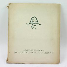 Catálogos publicitarios: SEAT, CATÁLOGO DE AUTOMÓVILES, AÑO 1953. 29X34 CM. 45 PAG. MUY INTERESANTE. VER FOTOS.. Lote 56341177