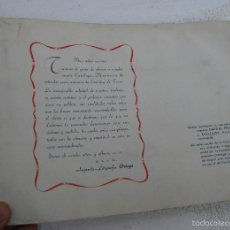 Catálogos publicitarios: CATALOGO LITOGRAFIA TAURINO VALENCIA POSTER CARTELES ENTRADAS TOROS FESTEJOS ORTEGA 1949. Lote 56522119
