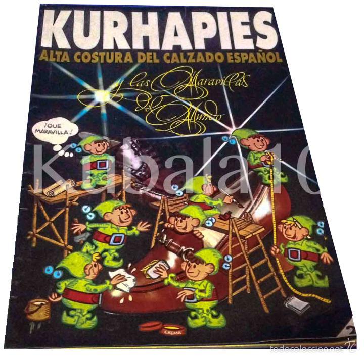 KURHAPIES ··ALTA COSTURA DEL CALZADO ESPAÑOL ·· ELDA ·· ALICANTE (Coleccionismo - Catálogos Publicitarios)