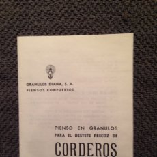 Catálogos publicitarios: FOLLETO PUBLICITARIO. Lote 56576937
