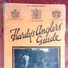Catálogos publicitarios: HARDY'S ANGLERS GUIDE. HARDY BROS, ALNWICK, ENGLAND 1930 FISHING CATALOG CATÀLEG PESCADORS V FOTOS. Lote 56619148