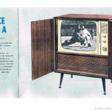 Catálogos publicitarios: CATALOGO TELEVISORES PHILIPS. AÑO 1963. Lote 56875027