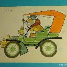 Catálogos publicitarios: PUBLICIDAD FARMITALIA. LÁMINA AUTOMÓVIL BUICK 1904. IMPRESO EN VENEZUELA. FORMATO 26 X 17,5 CM. Lote 56993125