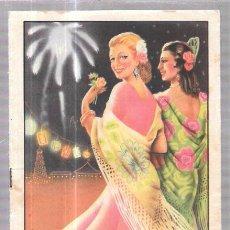 Catálogos publicitarios: LIBRETO GRANDES FIESTAS Y FERIA EN ARCOS DE LA FRONTERA. 1948. 29 Y 30 DE SEPTIEMBRE. 21,3X13,8 CM. Lote 57058464
