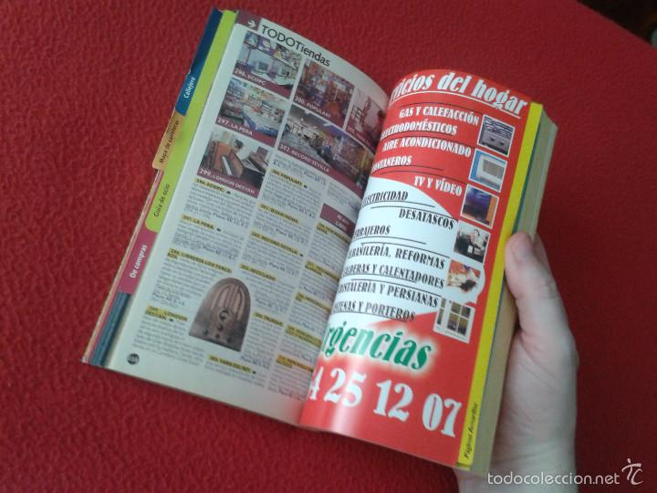 Catálogos publicitarios: GUIA PAGINAS AMARILLAS BOLSILLO DE LAS PROVINCIAS DE SEVILLA CADIZ Y HUELVA AÑO 2002 2003 VER FOTO/S - Foto 3 - 57090595