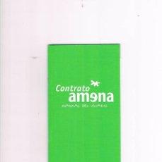 Catálogos publicitarios: CONTRATO AMENA MANUAL DE USUARIO. Lote 57134978