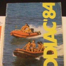 Catálogos publicitarios: CATÁLOGO ZODIAC 1984. Lote 57272004