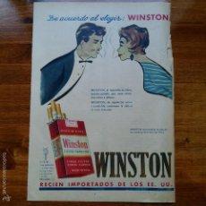 Catálogos publicitarios - RECORTE ANTIGUA PUBLICIDAD, AÑOS 50. TABACOS WINSTON - 57305473
