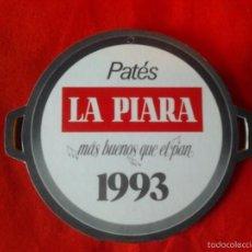 Catálogos publicitarios: CALENDARIO 1993 DESPLEGABLE EN 7 PARTES CON MESES Y PATES, LA PIARA MAS BUENOS QUE EL PAN . Lote 57417021