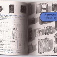 Catálogos publicitarios: CRABTREE CATÁLOGO DE PRODUCTOS ELÉCTRICOS / ELECTRICAL PRODUCTS / ENGLAND / 1946. Lote 57449790