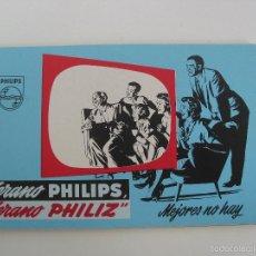Catálogos publicitarios: CATALOGO PHILIPS. TELEVISORES, VENTILADORES, RADIOS, TOCADISCOS, ETC . AÑOS 60. Lote 57475570