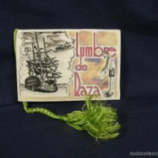 Catálogos publicitarios: LUMBRE RAZA OSBORNE FOLLETO PINTADO A MANO SHERRY GOUACHE POESIA NORIEGA HERMANOS RAMIREZ DE LA PEÑA. Lote 57521330