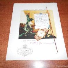 Catálogos publicitarios: PUBLICIDAD EN PRENSA 1958: RELOJ OMEGA SEAMASTER. Lote 57876877
