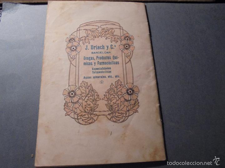 Catálogos publicitarios: FARMACIA - J. URIACH Y Cª BARCELONA CATALOGO 1914 - 48 PAG. ILUSTRADO IMP. J. HORTA BARCELONA 21X14 - Foto 3 - 57977135