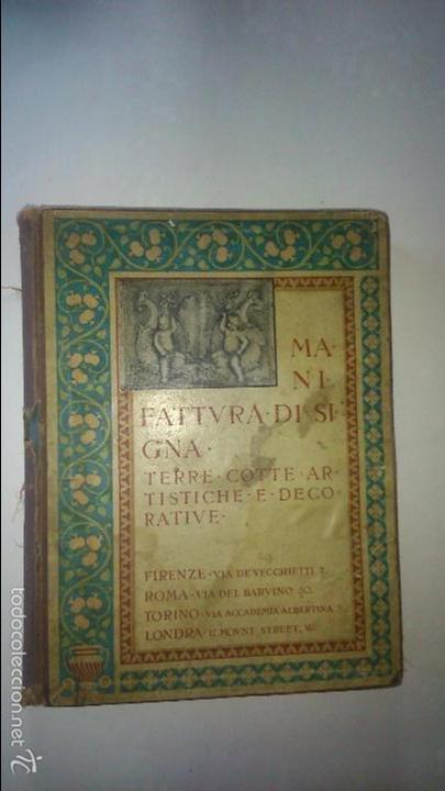 catalogo de manifattura di signa. terre-cotte, - Comprar Catálogos ...