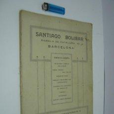 Catálogos publicitarios: CATALOGO DECORACION CON 36 BELLAS LAMINAS MUEBLES DE LUJO - AÑOS 20/30 BARCELONA SANTIAGO BOLIBAR. Lote 58015437