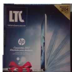 Catálogos publicitarios: CATALOGO LTC - LA TIENDA EN CASA - -- ESPECIAL DICIEMBRE 2014. Lote 182961222
