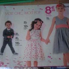 Catálogos publicitarios: CATALOGO PUBLICITARIO KIABI - MODA INFANTIL. Lote 58376410
