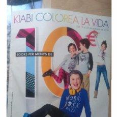 Catálogos publicitarios: CATALOGO PUBLICITARIO KIABI - MODA INFANTIL - DEL 17 AL 30 SETEMBRE 2014 - EN CATALAN. Lote 58376420