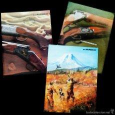 Catálogos publicitarios: CATÁLOGOS ARMAS Y MUNICIONES. B.G MIROKU. AÑO: 1980. Lote 58403661