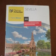 Catálogos publicitarios - Paginas amarillas 2015 Sevilla. Envuelto, sin estrenar. - 58635537