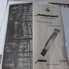 Catálogos publicitarios: MUESTRARIO DE TINTES. Lote 58636263