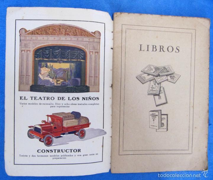 Catálogos publicitarios: LIBROS Y JUGUETES. CATÁLOGO 1924. I. G. SEIX Y BARRAL HERMS, EDITORES, BARCELONA. - Foto 2 - 59046800
