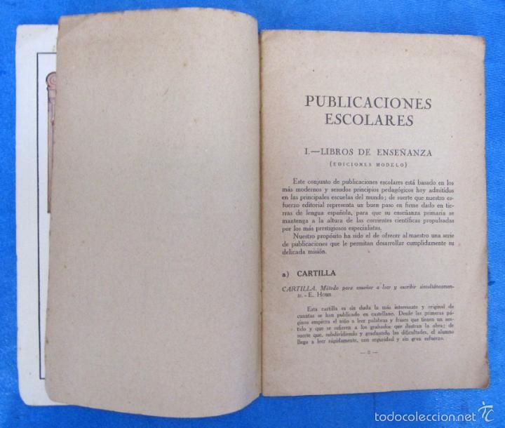 Catálogos publicitarios: LIBROS Y JUGUETES. CATÁLOGO 1924. I. G. SEIX Y BARRAL HERMS, EDITORES, BARCELONA. - Foto 3 - 59046800