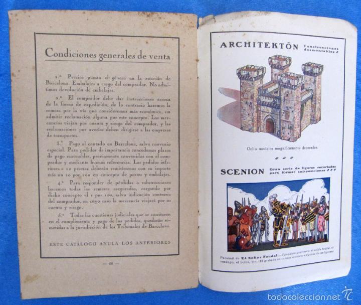 Catálogos publicitarios: LIBROS Y JUGUETES. CATÁLOGO 1924. I. G. SEIX Y BARRAL HERMS, EDITORES, BARCELONA. - Foto 7 - 59046800